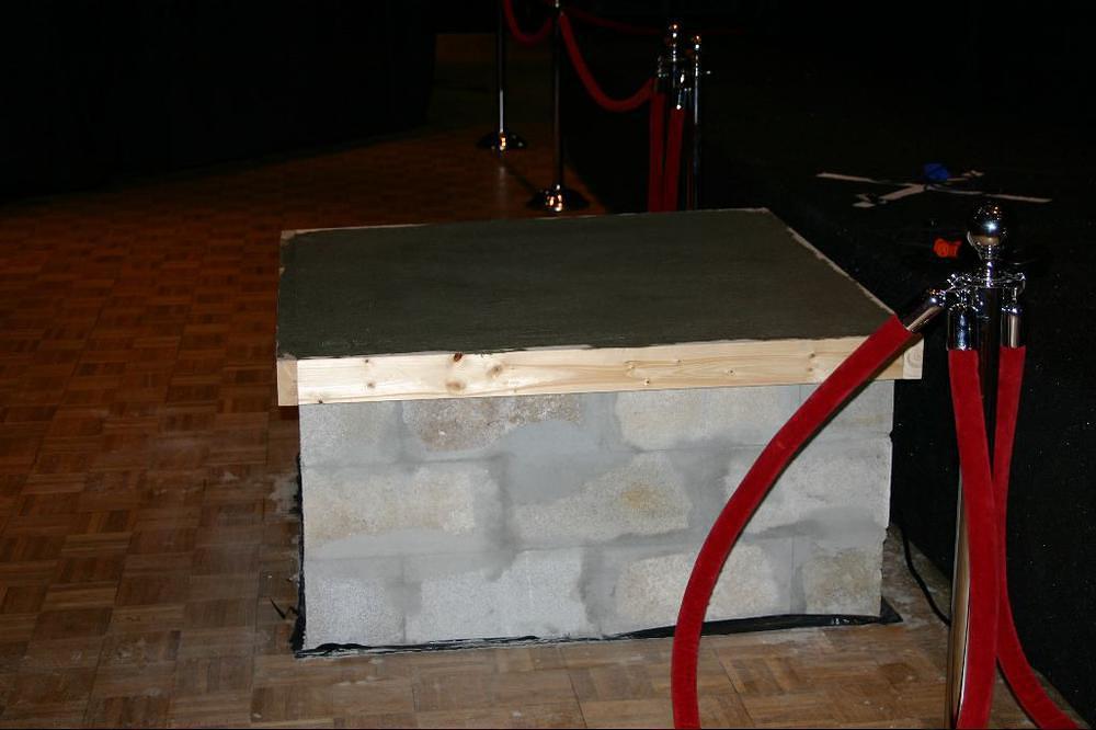 Concrete Camera Stand